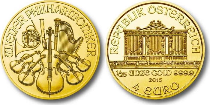 Выпущенные в евро монеты
