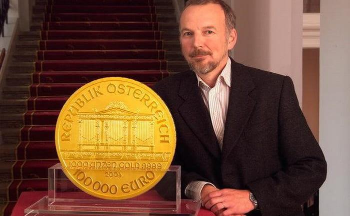 дизайн разработал главный гравер австрийского Монетного двора