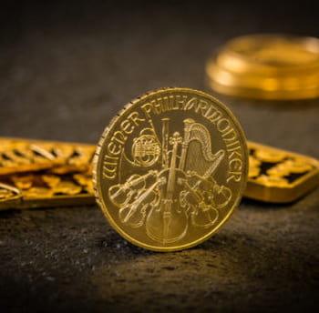 Стоимость монеты «Венская филармония» из золота на рынке