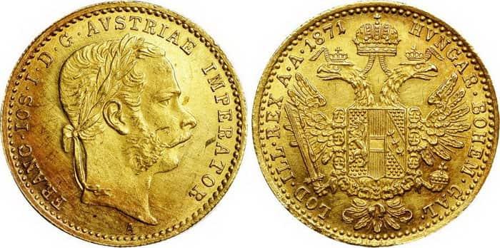 1 ducat 1871