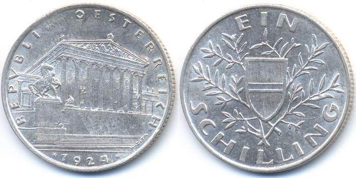 1 shillings 1924