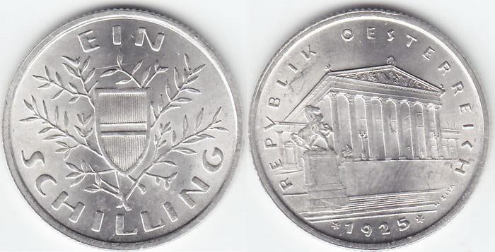 1 silver shilling