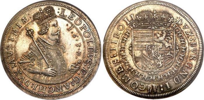 1 thaler of Archduke Leopold V