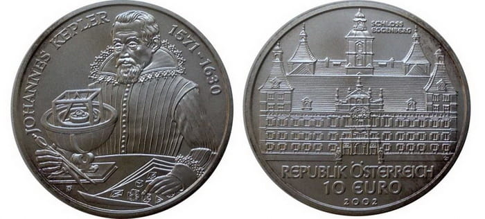 10 silver euro 2002 The Castle of Schloss Hof