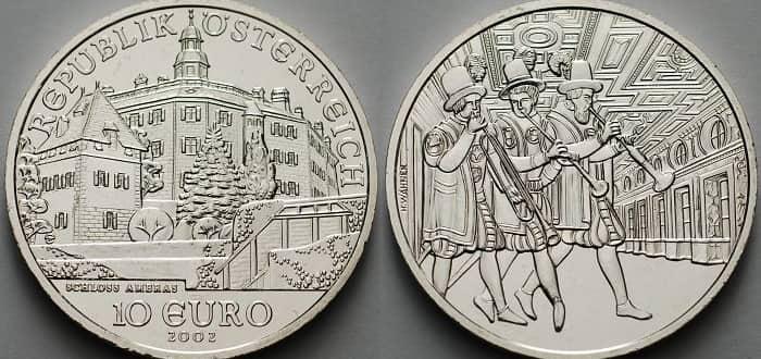 10 silver euro 2002