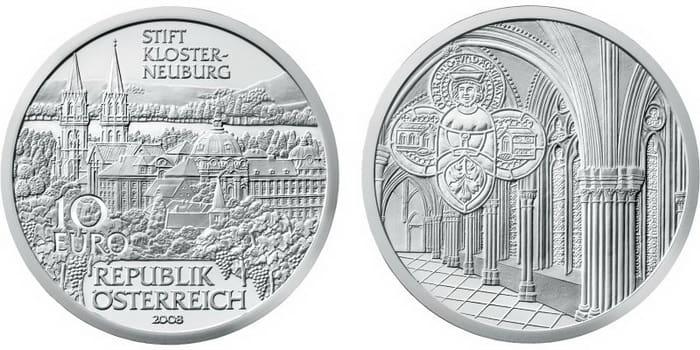 10 silver euro 2008