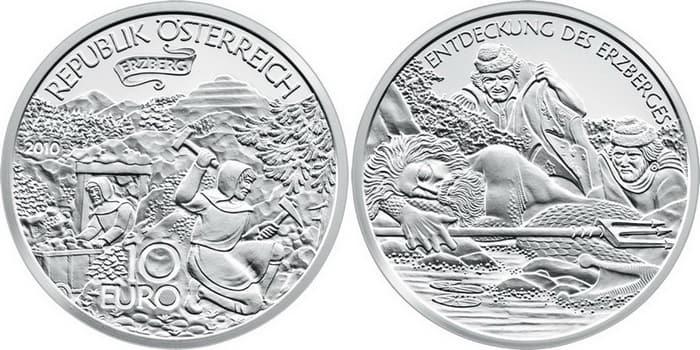 10 silver euro 2010