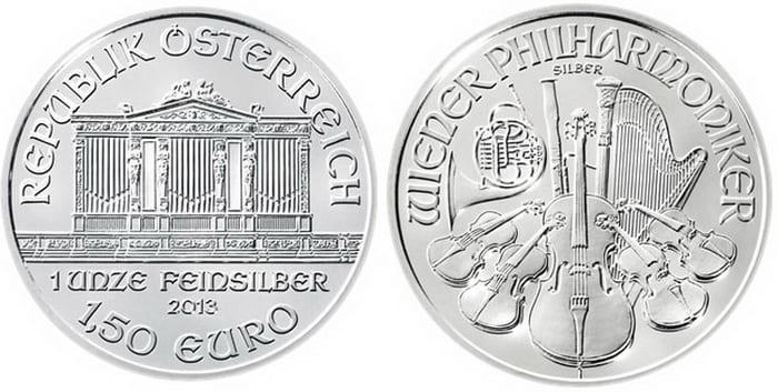 памятные 1,5 евро из серебра