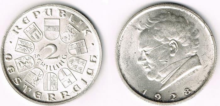 2 shillings 1928-1933
