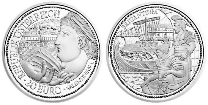 монета Бригантиум