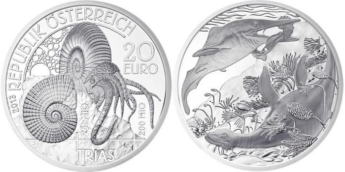 монета Триас