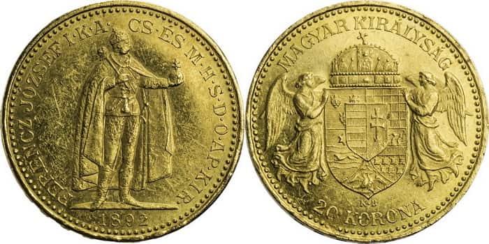 20 coronas 1892