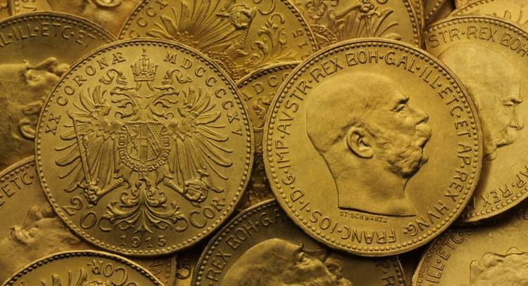 20 gold coronas 1909-1915
