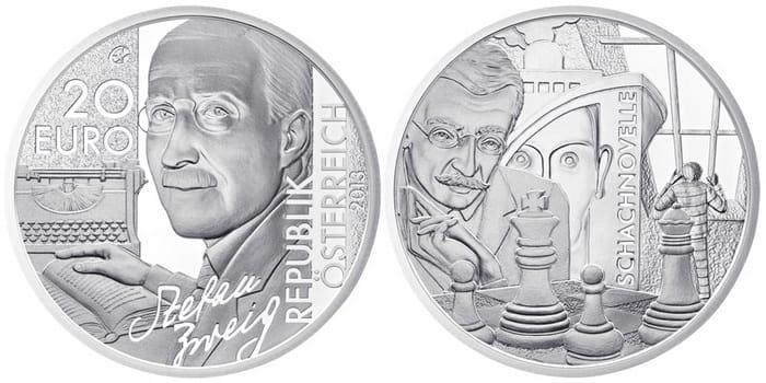 20 silver euro 2012 Stefan Zweig