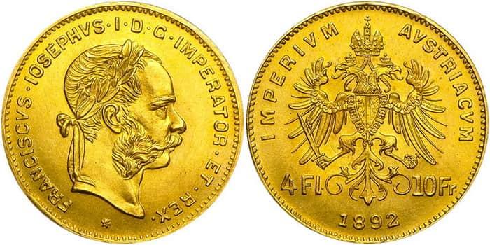 4 florin 1892