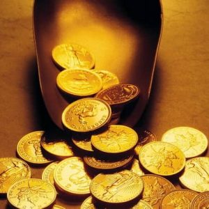Antique gold coins of Austria