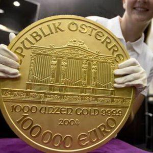золотые евро австрии