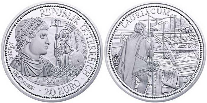 Lauriacum silver coin
