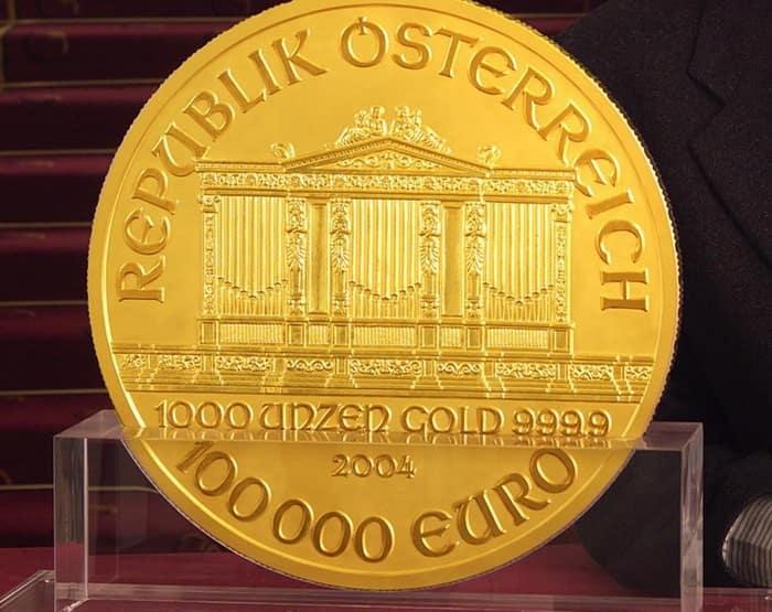 Philharmoniker 100 000 euro
