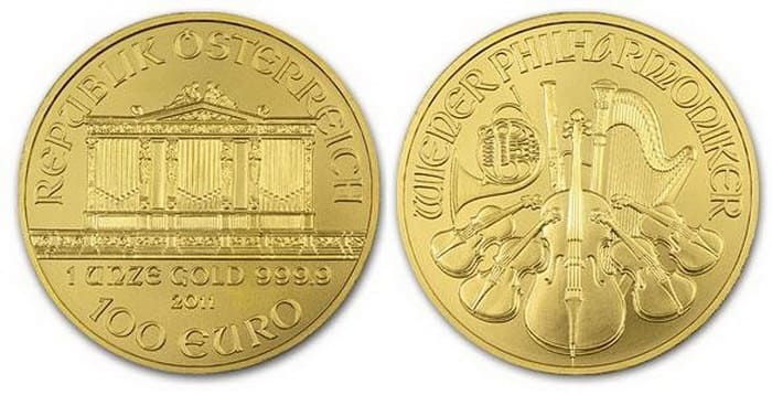 Philharmoniker 100 euro