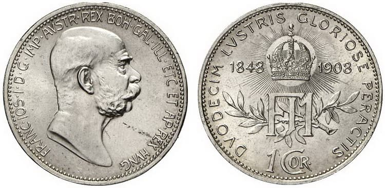 Silver corona 1908