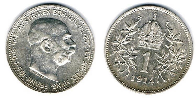 Silver corona 1912-1916