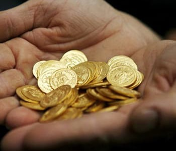 Withdrawal of the gold coins from the circulation