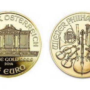 монеты Австрии золотая серия