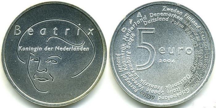монета голландские евро