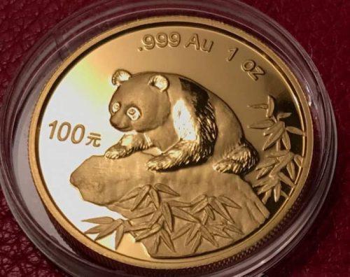 Золотая Панда 100 юаней