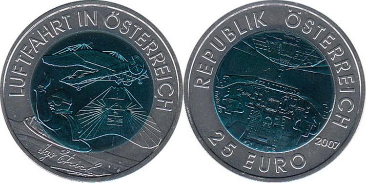 "Coin ""Austrian Aviation"