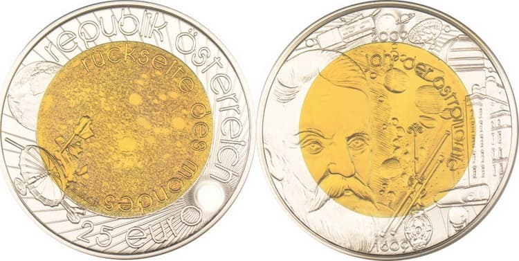"""Coin """"International Year of Astronomy"""""""