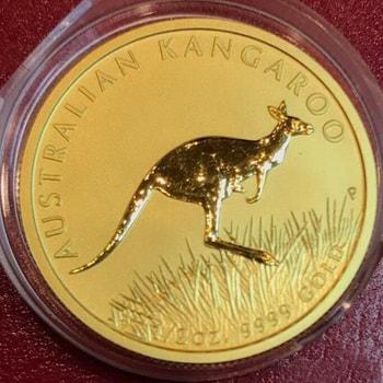 Монета с Кенгуру 2008