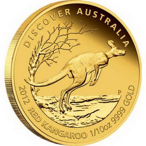 австралийская монета из серии Кенгуру