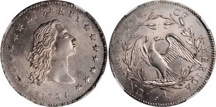 Монета 1794г