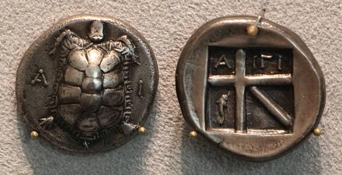Первые древнегреческие монеты