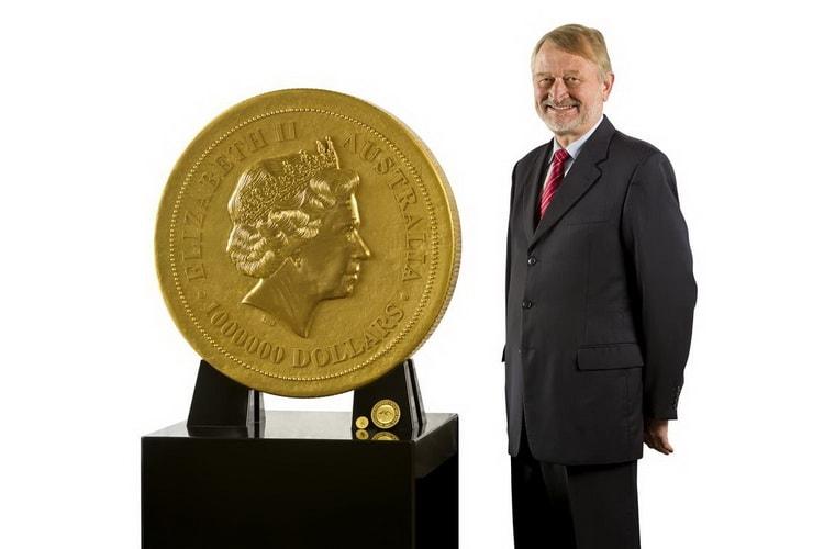 Самая крупная монета из серии Кенгуру