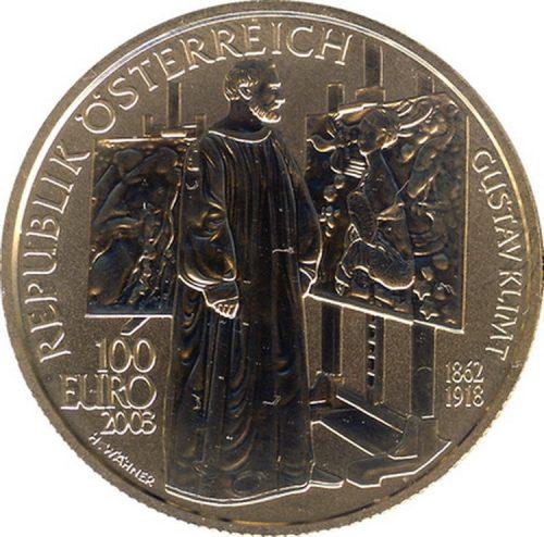 Серия Художественные сокровища Австрии Живопись Аверс