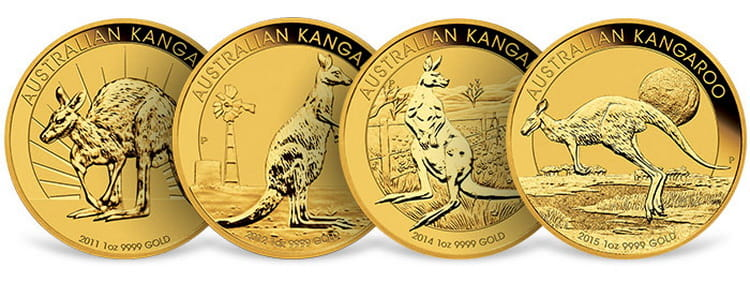 Серия монет с Кенгуру