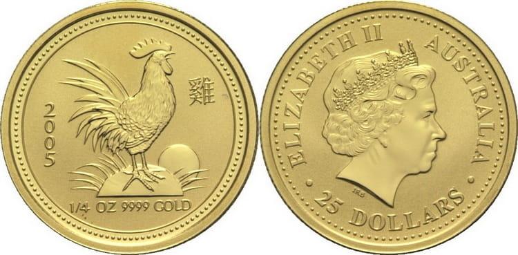 австралийская монета Лунной серии - Питух