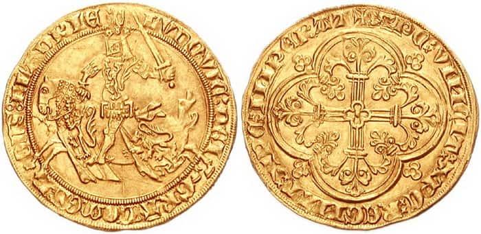золотой конный франк