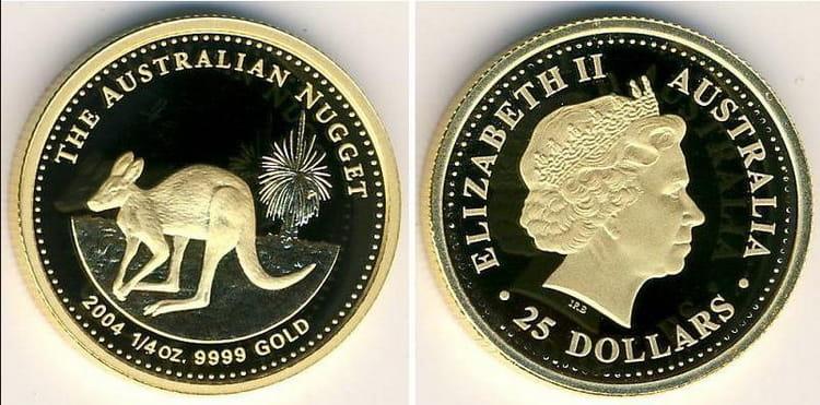 золотые австралийские монеты серии Кенгуру