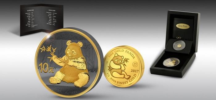 монеты в лакированной коробке с шелковой подкладкой