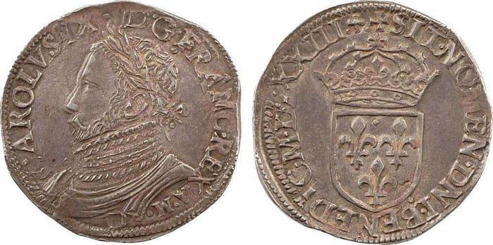 монета 1 тестон