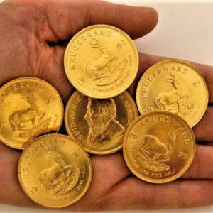 монеты крюгерранд