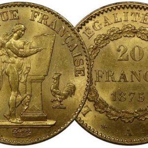 20 франков серии Ангел