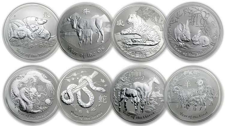 Australian Silver Coins of the Lunar Series