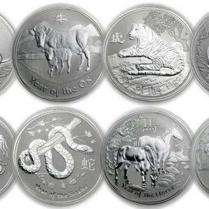 серебряные монеты лунной австралия