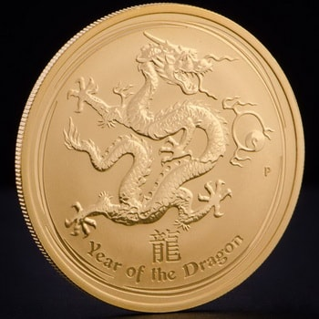 Монета с дракона