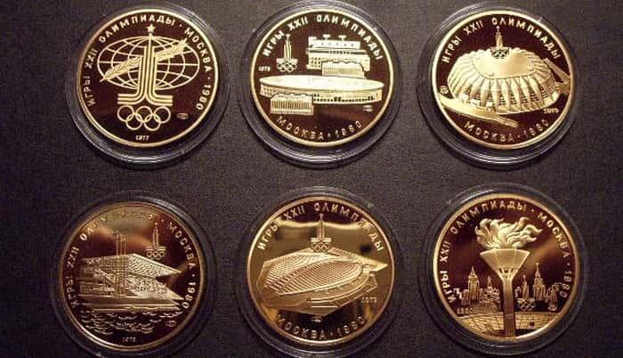 Soviet gold coins